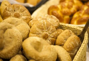 Freshly baked goods made by bakers in the local region